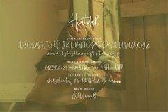 Web Font Heatdal - A Stylish Script Font Product Image 2