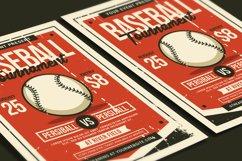 Baseball Tournament Flyer Product Image 4