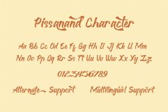 Pissanand Handwriten Vintage Product Image 3