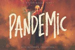 Pandemic - Brush Font Product Image 1