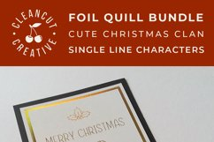 Foil Quill Edition - Cute Christmas Clan - family figures Product Image 6