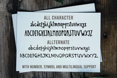 Scratch Ink - A Handwritten Condesed Font Product Image 5
