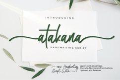 Atakana Handwriting Font Script Product Image 1