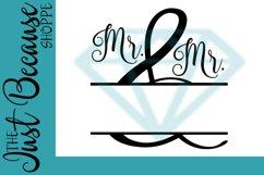 Mr. & Mr. SVG File, Personalize It Design - 0072 Product Image 1