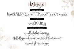 Wanoja | Unique Handwriting Script Font Product Image 6