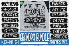 Trouble - It's My Grandpa's Fault -BUNDLE - 29 Names Incl Product Image 2