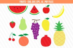 Fruits svg dxf cutting files Product Image 1
