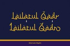 Barokah Ramadhan - Arabic Fauxlang Font // Web Font Product Image 2