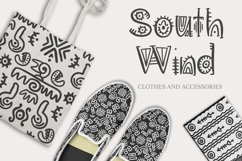 Aztec Soul. Tribal font with extras. Product Image 2