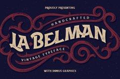 La Belman font & bonus Product Image 1