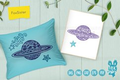Planets Svg, Universe Svg, Space Svg, Pdf, Dxf, Png, Eps Product Image 2