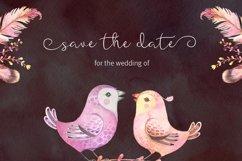 Featherly Font - wedding font Product Image 2