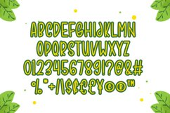 Fresh Juice - Cute Display Font Product Image 4
