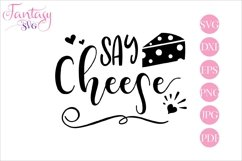 Say cheese - svg cut file Product Image 1