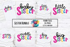 Sister Bundle - A set of sister sibling SVG designs Product Image 1