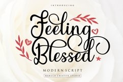 Feeling Blessed Product Image 1