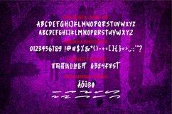 Khila | The Scary Brush Font Product Image 6