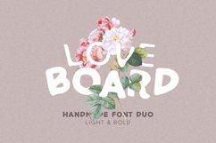 Love Board - Handmade Font Product Image 1