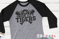 Baseball SVG Template 0010, svg cut file | Shirt Design Product Image 4