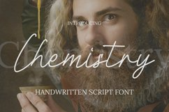 Chemistry Font Product Image 1