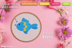 Zodiac signs - Embroidery Files - Bundle Product Image 4