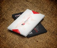 Beautiful Black Business Card Product Image 2