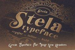 Stela - Display Font Product Image 5