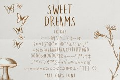Sweet Dreams a hand-drawn wonky font Product Image 3