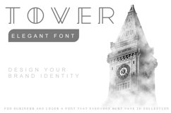 Tower - Minimal Brand Font Product Image 1