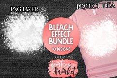 Bleach Effect Bundle for Sublimation Mockups Product Image 1