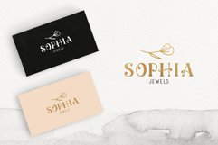 Ciera watercolor svg font family & floral logos clipart Product Image 6