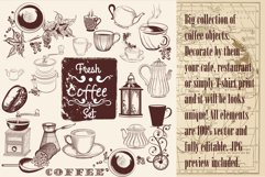 Coffee vector collection Product Image 6