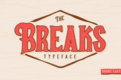 Breaks Typeface Product Image 1