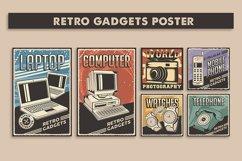 Retro Gadgets Poster Signage set Product Image 1