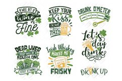 St Patricks Day Drinking SVG in SVG, DXF, PNG, EPS, JPEG Product Image 1