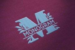 Bogi Split Monogram Font Product Image 2
