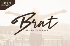 Web Font Brat Brush Product Image 1