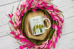 Daffodil Clipart   Spring Daffodil Flowers Bundle Product Image 4