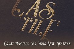Castile - Display Font Product Image 5