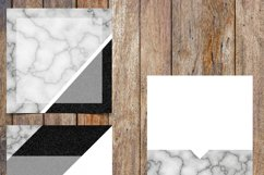 Marble and Black Glitter Instagram Template Pack Product Image 3
