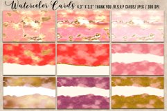 Luxury Gold Watercolor Bundle. Watercolor textures kit, Product Image 5