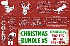 Christmas Bundle 5 SVG Files - Svg Files for Cricut Christmas Svg Files for Silhouette Christmas Christmas SVG Bundle Holiday SVG Files - 505 Product Image 1