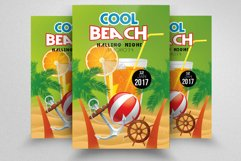 10 Summer Beach Party Flyers Bundle Product Image 5