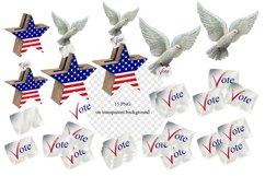 Vote Clipart, Voting Clipart, Voting Usa Clipart Product Image 5
