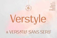 Verstyle | A Versatile Sans Serif Typeface Product Image 1