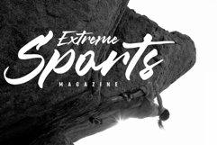 Misty Black Stylish Bold Script Font Product Image 5