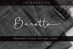 Baretto Font Product Image 1