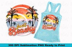 Just Beachy Retro Beach Summer Cruise Island Sublimation Product Image 1