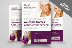 Senior Care Homes Flyers Product Image 3