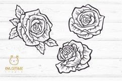 Rose SVG, rose PNG, Wedding flowers, Flowers SVG Product Image 3